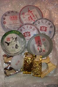 Вторая посылка с чаем из Китая