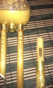 Хулусы со снятой мелодической трубкой